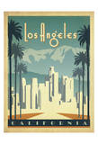 Los Angeles, California Posters by  Anderson Design Group