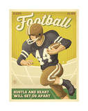 Football Print by  Anderson Design Group