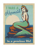 Mermaid Prints by  Anderson Design Group