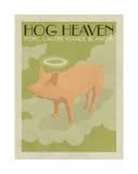 Hog Heaven (Porc, L'Autre Viande Blanche) Poster by  Anderson Design Group