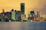 City of Miami, Summer Sunset Fotodruck von  prochasson