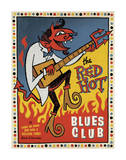 Red Hot Blues Posters by  Anderson Design Group