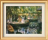 Le Grenouillere Art by Pierre-Auguste Renoir