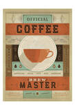 Official Coffee Brew Master Prints by  Anderson Design Group
