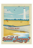 Cape May, New Jersey Plakater af Anderson Design Group
