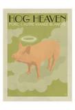 Hog Heaven (Porc, L'Autre Viande Blanche) Affiches par  Anderson Design Group