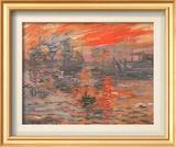 Impression, Sunrise Art by Claude Monet