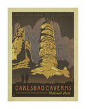 Parc national des grottes de Carlsbad Affiches par  Anderson Design Group