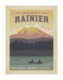Mount Rainier National Park, Washington Poster von  Anderson Design Group