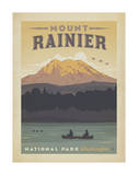 Mount Rainier National Park, Washington Posters by  Anderson Design Group