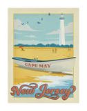 Cape May, New Jersey Poster by  Anderson Design Group