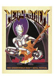 Metal Mayhem Posters by  Anderson Design Group