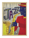 NY Jazz Fest Posters por Anderson Design Group