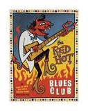 Red Hot Blues Prints by  Anderson Design Group