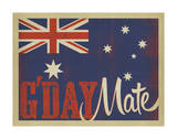 G'Day Flag Posters by  Anderson Design Group