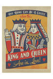 King and Queen Print by  Anderson Design Group
