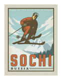 Sochi, Russia Arte por Anderson Design Group