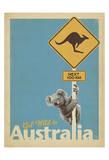 Get Wild in Australia Poster autor Anderson Design Group