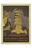 Carlsbad-Caverns-Nationalpark Kunstdruck von  Anderson Design Group