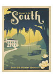 Welcome to the South Posters af Anderson Design Group