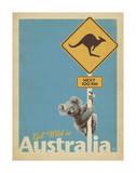 Get Wild in Australia Affiches par  Anderson Design Group