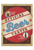 Official Beer Taster Art by  Anderson Design Group