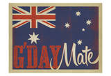 G'Day Flag Prints by  Anderson Design Group