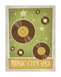 Music City U.S.A , Nashville, Tennessee Art by  Anderson Design Group