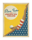 Dive Into American Dream Prints by  Anderson Design Group