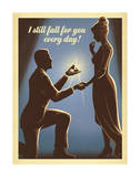I Still Fall For You Prints by  Anderson Design Group