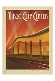 Music City Center, Nashville, Tennessee Plakater af Anderson Design Group