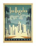 Los Angeles, California Plakater af Anderson Design Group