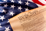 Us Constitution - We the People Photographic Print by  oersin