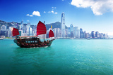 Hong Kong Harbour Photographic Print by Iakov Kalinin