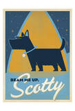 Beam Me Up Scotty Print by  Anderson Design Group