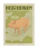 Hog Heaven (Porc, L'Autre Viande Blanche) Posters by  Anderson Design Group