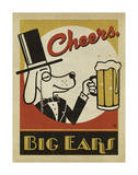 Cheers Big Ears Poster by  Anderson Design Group