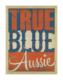 True Blue Aussie Prints by  Anderson Design Group