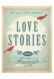 Love Stories Plakater af Anderson Design Group