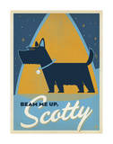 Beam Me Up Scotty Prints by  Anderson Design Group