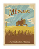 Midwest, The Breadbasket of America Prints by  Anderson Design Group