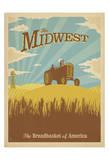 Midwest, The Breadbasket of America Kunstdrucke von  Anderson Design Group