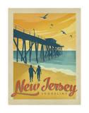 Côtes de Jersey Poster par  Anderson Design Group