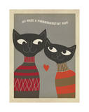 Cats Purrfect Pair Prints by  Anderson Design Group
