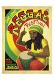 Reggae Fest Kunstdrucke von  Anderson Design Group