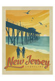 Côtes de Jersey Affiches par  Anderson Design Group