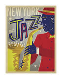 NY Jazz Fest Prints by  Anderson Design Group