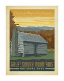 Great Smoky Mountains National Park Prints by  Anderson Design Group