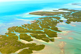 Florida Keys Aerial View Photographic Print by  Zechal