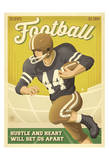 Fútbol americano Posters por Anderson Design Group